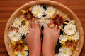 Pampered Feet Stock Images