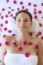 Pampering Royalty Free Stock Photo