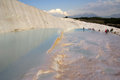 Pamukkale turkey in summer day Stock Photo