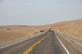 Pan-American Highway near Arequipa, Peru Royalty Free Stock Photo