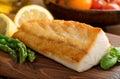 Pan Seared Fish Royalty Free Stock Photo