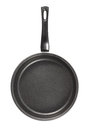 Pan with teflon cover on white background Stock Photography