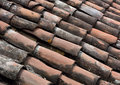Pan tile roofing background Royalty Free Stock Photo