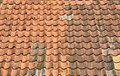 Pan tiled roof Royalty Free Stock Image