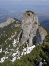 Panaghia Mountain Pinnacle Royalty Free Stock Image
