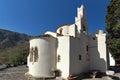 Panagia Episkopi Church in Santorini island, Thira, Greece Royalty Free Stock Photo