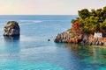 Panagia in Parga, Greece Royalty Free Stock Photo