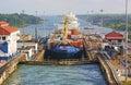 Panama Canal Royalty Free Stock Photo