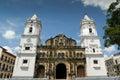 Panama City Central America Cathedral in plaza Mayor Casco Antig Royalty Free Stock Photo