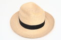 Panama Hat isolated Stock Photography