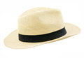 Panama style hat Royalty Free Stock Photo