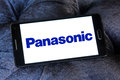 Panasonic logo Royalty Free Stock Photo