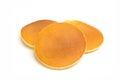 Pancake isolated on white background Royalty Free Stock Photo
