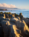 Pancake Rocks Royalty Free Stock Photo