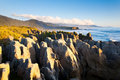 Pancake Rocks Royalty Free Stock Image