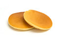 Pancake taken in natural light isolated Royalty Free Stock Photo
