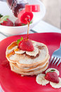 Pancakes breakfast Royalty Free Stock Photography