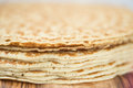 Pancakes stack Royalty Free Stock Photo
