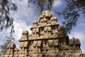 Panch Rathas in Mamallapuram - India Royalty Free Stock Photography