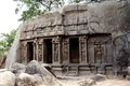 Pancha ratha temples in mammallapuram india chennai tamilnadu Stock Photos