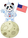 Panda Astronaut Royalty Free Stock Photo