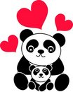 Panda bear Royalty Free Stock Images