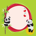 Panda Love Stock Images