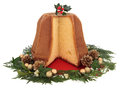 Pandoro Christmas Cake Stock Photography