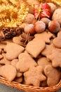 Panes de jengibre Fotografía de archivo libre de regalías