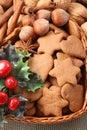 Panes de jengibre Imagen de archivo libre de regalías