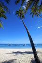 Panglao island bohol view of the beautiful beach on Royalty Free Stock Images