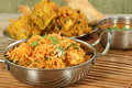 Panir biryani indian food dish of Royalty Free Stock Photos