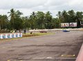 Pannala speed race srilankan going on panala srilanka on Royalty Free Stock Photography