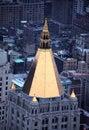 Panorama av New York Arkivbilder