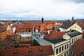 Panorama of bamberg the german city Royalty Free Stock Images
