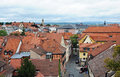 Panorama of bamberg the german city Stock Photos