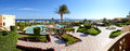 Panorama beach luxury hotel sharm el sheikh egypt Royalty Free Stock Photography