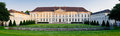 Panorama bellevue palace berlin with in germany Stock Images