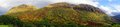 Panorama of Ben Nevis Range Royalty Free Stock Photo