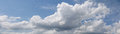 Panorama blue sky and cloud white for background Royalty Free Stock Photo