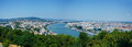 Panorama of Budapest Royalty Free Stock Photo