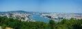 Panorama of Budapest Royalty Free Stock Photo
