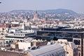 Panorama of Budapest, Hungary Royalty Free Stock Photo
