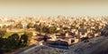 Panorama on Cairo Royalty Free Stock Photo