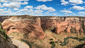 Panorama, Canyon de Chelly Royalty Free Stock Photo