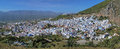 Panorama of Chefchaouen, Morocco Royalty Free Stock Photo