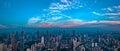 Panorama City View of the SHANGHAI,CHINA