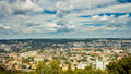 Panorama of city wonderful day lviv Stock Images