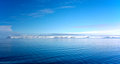 Panorama of coast in spitzbergen from arctic ocean Royalty Free Stock Photos