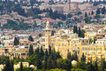 Panorama de Jerusalem 3 Foto de Stock Royalty Free